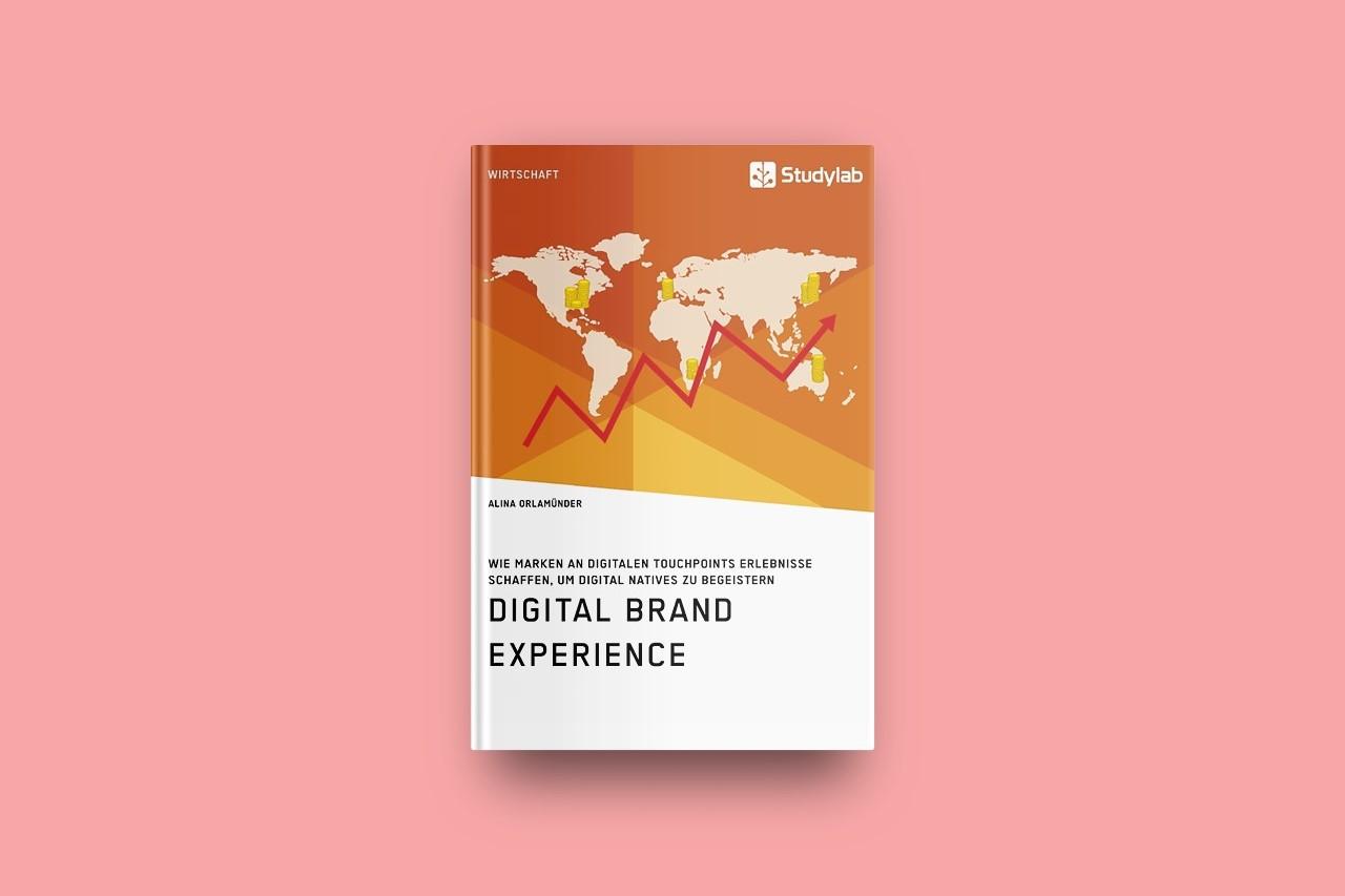 Buch Digital Brand Experience Orlamünder Alina